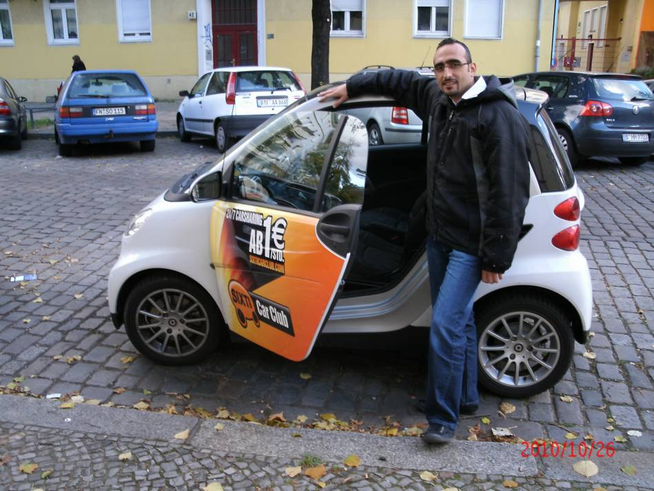 My first Smart(i) is quite Sixti or ... - Samer Baydoun web expert from Aleppo (Syria)  September 26, 2010