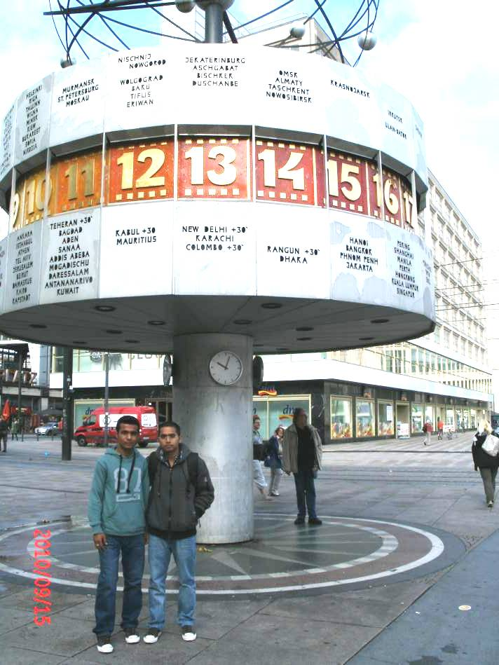 Looking for Kathmandou - Berlin World Time Clock 